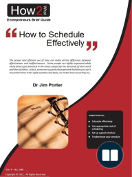 How to Schedule Effectively
