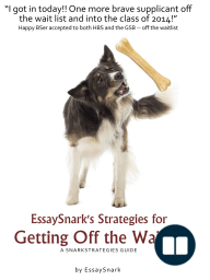 EssaySnark's Strategies for Getting Off the Waitlist