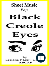 Sheet Music Black Creole Eyes