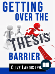 Getting Over the Thesis Barrier