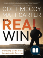 The Real Win (Trade Paperback) by Colt McCoy and Matt Carter