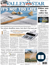 The Valley Morning Star - 04-14-2014