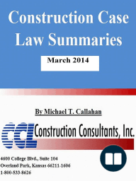 Construction Case Law Summaries
