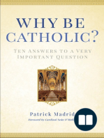 Why Be Catholic by Patrick Madrid (Chapter 1)