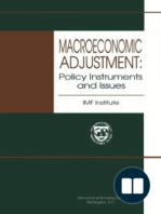 Macroeconomic Adjustment