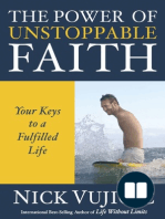 The Power of Unstoppable Faith by Nick Vujicic (10-Pack) (Sneak Peek)