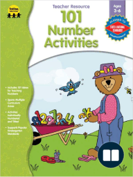 101 Number Activities, Ages 3 - 6