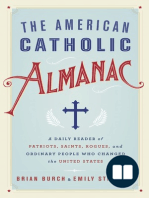 The American Catholic Almanac by Brian Burch and Emily Stimpson (Excerpt)