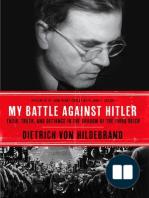 My Battle Against Hitler by Dietrich von Hildebrand (Chapter 1)