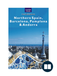 Northern Spain, Barcelona, Pamplona & Andorra
