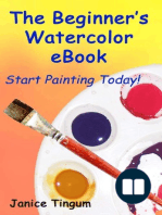 The Beginner's Watercolor E-Book
