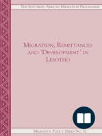 Migration, Remittances and Development in Lesotho