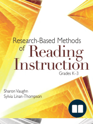 Research-Based Methods of Reading Instruction, Grades K–3