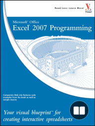 Microsoft Office Excel 2007 Programming