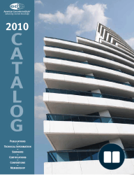 ACI 2010 Products and Services Catalog