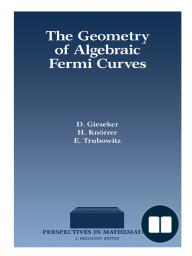 The Geometry of Algebraic Fermi Curves