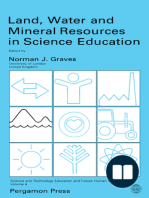Land, Water and Mineral Resources in Science Education