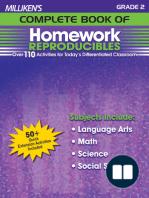 Milliken's Complete Book of Homework Reproducibles - Grade 2