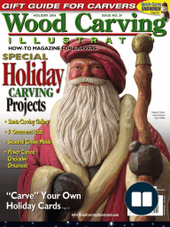 Woodcarving Illustrated magazine - Issue #29 - holiday 2004