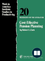 Cost-Effective Pension Planning