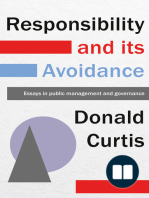 Responsibility and its Avoidance