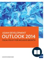 Asian Development Outlook 2014