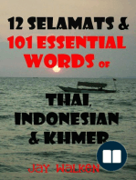 12 Selamats and 101 Essential Words of Thai, Indonesian, and Cambodian
