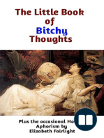 The Little Book of Bitchy Thoughts