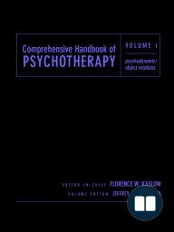 Comprehensive Handbook of Psychotherapy, Psychodynamic/Object Relations