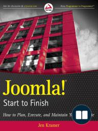 Joomla! Start to Finish