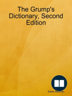 The Grump's Dictionary, Second Edition
