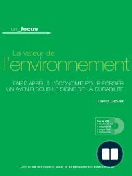 La valeur de l'environnement
