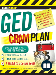 CliffsNotes GED Cram Plan