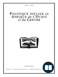 Politique sociale en Afrique de l'Ouest et du Centre