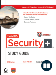 CompTIA Security+ Study Guide Authorized Courseware