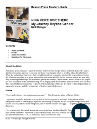Discussion Guide for Nina Here Nor There