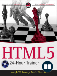 HTML5 24-Hour Trainer