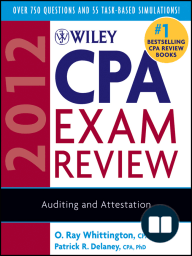 Wiley CPA Exam Review 2012, Auditing and Attestation