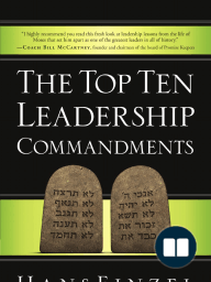 The Top Ten Leadership Commandments by Hans Finzel