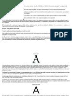 Tipografia y Diseño Grafico Para Web