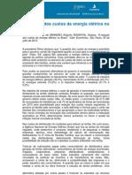Gesel - A redução dos custos da energia no Brasil