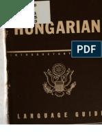 TM 30-316 Hungarian Language Guide 1943