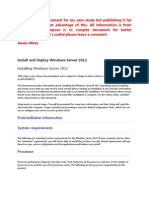 Install and Deploy Windows Server 2012