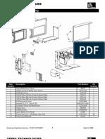 Zebra 110Xi3 Parts Catalog