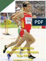 Ranking Federación Española Atletismo