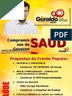 Propostas Saúde Geraldo Júlio