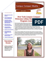 7-13-12 New York Campus Compact Weekly