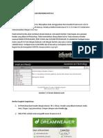 Desain Halaman Web Dengan Dreamweaver