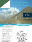 Development of Wind Power Energy in Nepal