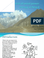 Development of Wind Power Energy in Nepal